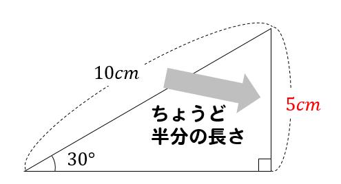 直角 三角形 辺 の 長 さ 求め 方