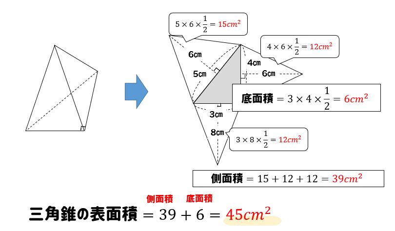 三角 錐 の 体積 の 求め 方