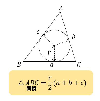 内 接 円 の 半径 三角形の内接円と傍接円 - Wikipedia